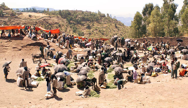Market of Lalibela